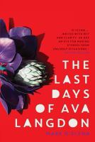 Last days of Ava Langdon /