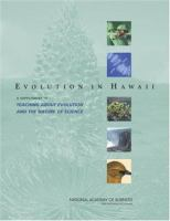 Evolution in Hawaii a supplement to teaching about evolution and the nature of science /