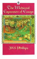 The medieval expansion of Europe /