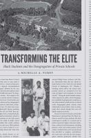 Transforming the elite : black students and the desegregation of private schools /