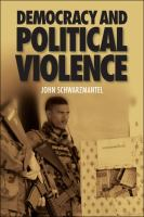 Democracy and political violence /