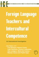 Foreign language teachers and intercultural competence : an international investigation /