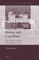 Barons and castellans : the military nobility of Renaissance Italy /