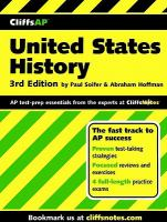 CliffsAP United States history /