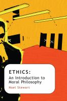 Ethics : an introduction to moral philosophy /
