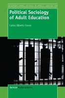 Political sociology of adult education /