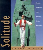 Solitude : art and symbolism in the National Basque Monument /