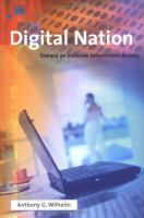 Digital nation : toward an inclusive information society /