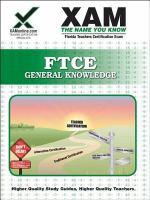 FTCE general knowledge teacher certification exam /
