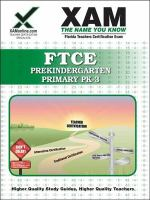 FTCE : prekindergarten/primary PK-3 : teacher certification exam /