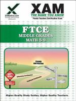 FTCE : middle grades mathematics 5-9 : teacher certification exam /