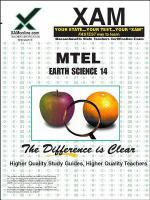 Earth science : teacher certification exam /