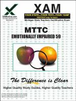 MTTC 59 : special education- emotionally impaired teacher certification exam /