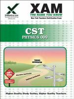 NYSTCE CST Physics teacher certification exam /