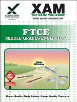 FTCE Middle Grades English 5-9 : teacher certification exam /