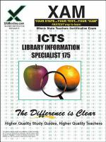 ICTS 175 Library information specialist teacher certification exam /