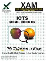 ICTS Science: Biology 105 : teacher certification exam /