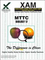 Biology teacher certification exam /