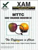 Early childhood education : teacher certification exam /
