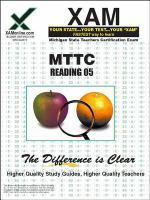MTTC reading 05 : teacher certification exam /