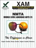 NMTA 23 Middle level language arts teacher certification exam /