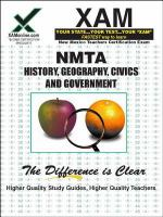 NMTA : history, geography, economics, civics, and government 16 : teacher certification exam /