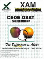 OSAT English : teacher certification exam /