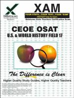 OSAT U.S. & world history : teacher certification exam /