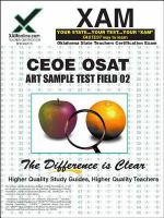 OSAT art sample test : teacher certification exam /